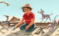 El Doodle de Google celebra hoy el nacimiento de Mary Leakey, la versión femenina y real de Indiana Jones