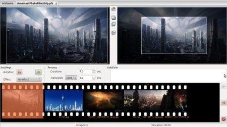 Crea vídeos a partir de fotos fácilmente con PhotoFilmStrip