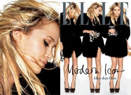 Mary-Kate Olsen en la portada de Septiembre de Elle Uk