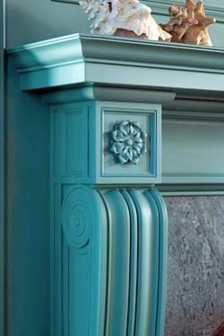 detalle azul turquesa