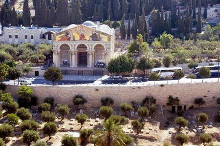 El Monte de los Olivos en Jerusalén (II)