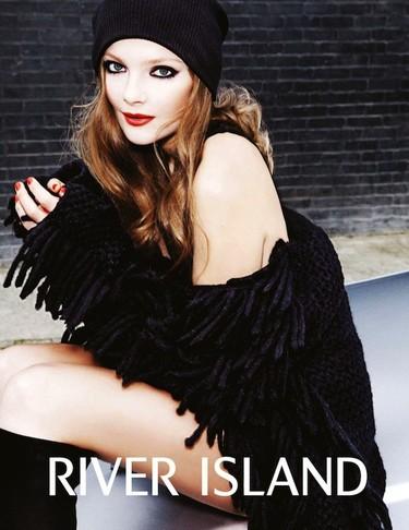 ¿Quién protagoniza la nueva campaña de River Island para este Otoño-Invierno 2012/2013? Eniko Mihalik, ¡sí!