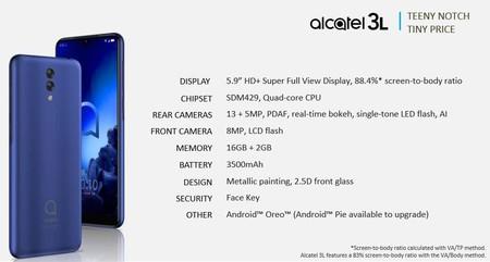 Alcatel 3l Filtracion