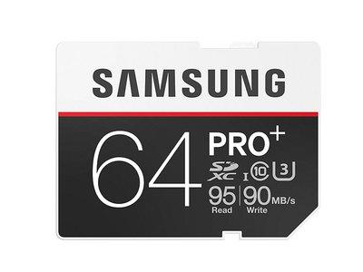 Tarjeta SD Samsung Pro+ de 64 Gb por 34,24 euros en Amazon