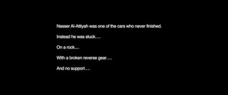 Robby Gordon continúa su guerra con Nasser Al-Attiyah