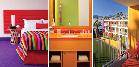 Hotel arcoíris - detalles