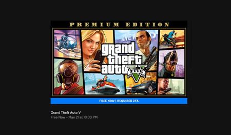 """""""GTA V gratis"""" o la jugada maestra de Epic Games para que millones de usuarios activen la verificación en dos pasos"""