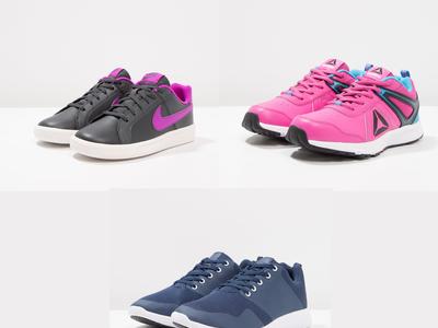 5 Zapatillas de marcas como Adidas, Reebok, Pier one... por menos de 20 euros y con envío gratis