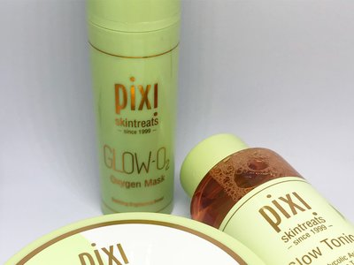 Probamos (y os recomendamos) el limpiador Double Cleanse, el famosísimo Glow Tonic y la mascarilla Glow-O2 de Pixi