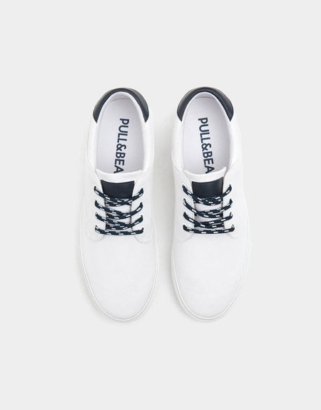 Sneakers Blancos En Rebajas De Pull Bear Perfectas Para Este Verano Tendencias Hombre 2018