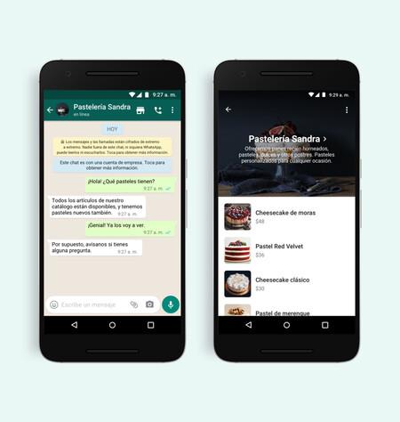 WhatsApp añade el botón de compra en los perfiles de WhatsApp Business