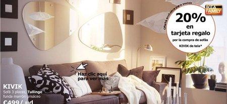 Sofás Kivik con un 20% de descuento en Ikea
