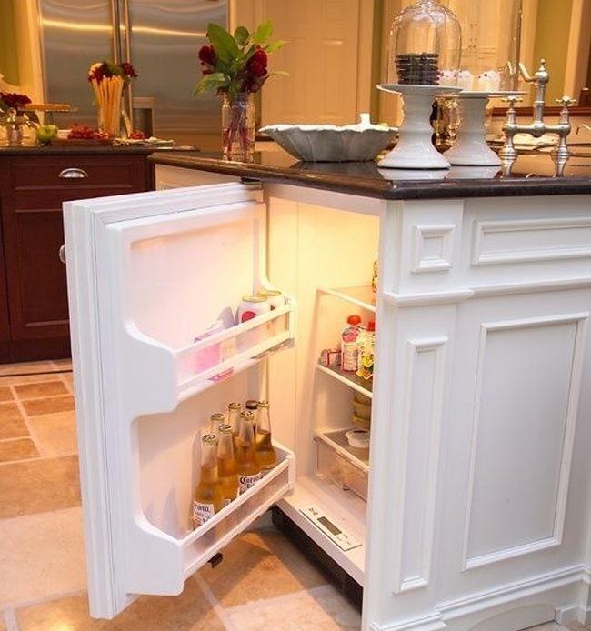 Soluciones para disfrutar de una isla de cocina en espacios reducidos