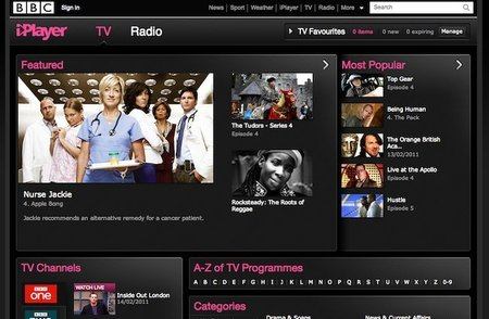El iPlayer de la BBC consigue +160M de streams en enero
