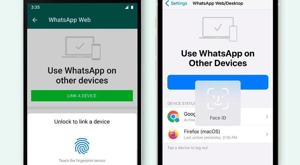 WhatsApp Web aumenta su seguridad: para empezar nueva sesión es necesario desbloquear con la huella