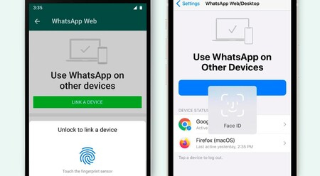 WhatsApp Web aumenta su seguridad: para iniciar nueva sesión es necesario desbloquear con la huella