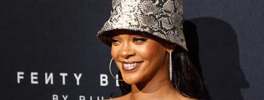 Rihanna pierde la cabeza por el print de serpiente y su último estilismo lo deja patente