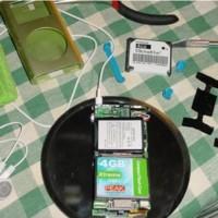 Transformar el iPod Mini para que lea tarjetas CF