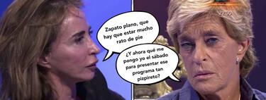 Chelo García Cortés le quita el trabajo a María Patiño como presentadora de 'Socialité' por 1.500 euros en 'Sálvame'