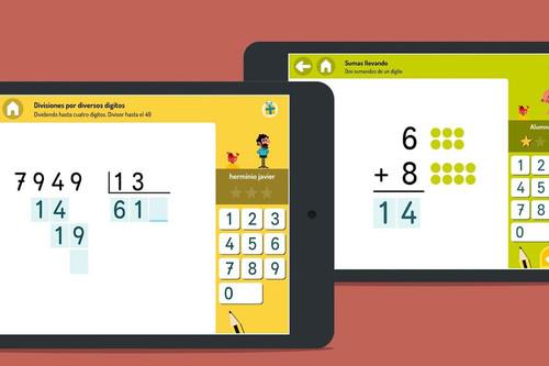 Cinco aplicaciones para que los niños aprendan matemáticas jugando