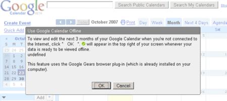 Gmail y Google Calendar podrán ser consultados offline en unas seis semanas