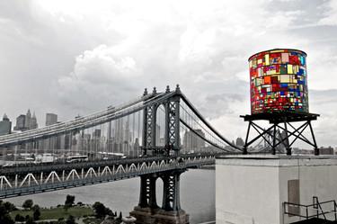 Watertower, un tributo a los depósitos de agua neoyorquinos