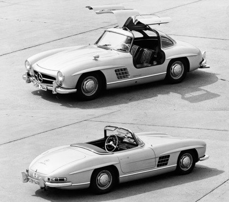Mercedes-Benz 300 SL Roadster y Gullwing