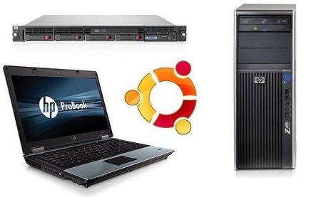 HP certifica en Ubuntu parte de su gama de equipos