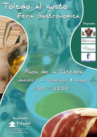 Sabores y aromas en la plaza del Ayuntamiento de Toledo
