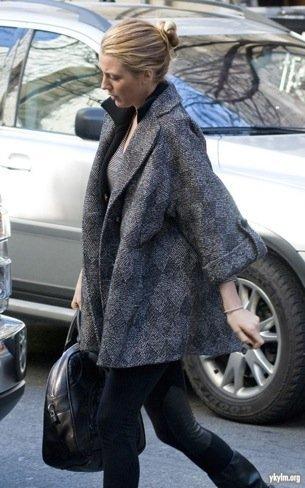 Blake Lively abrigo