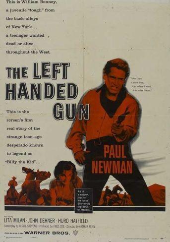 Paul Newman y el western (I): 'El zurdo' de Arthur Penn