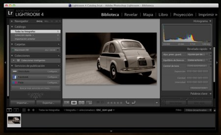 Adobe lanza Lightroom 4 para Mac y Windows