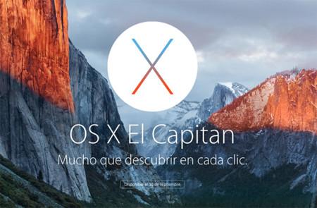 OS X El Capitan ya está disponible: ¿cómo instalarlo y cuáles son sus novedades?