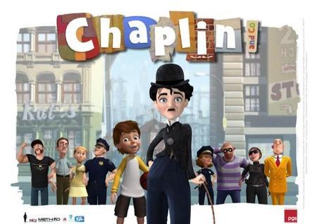 Clan estrena la serie de dibujos animados Chaplin inspirada en el clásico personaje del cine mudo