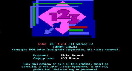 Lotus 1-2-3. Clásicos del software (X)