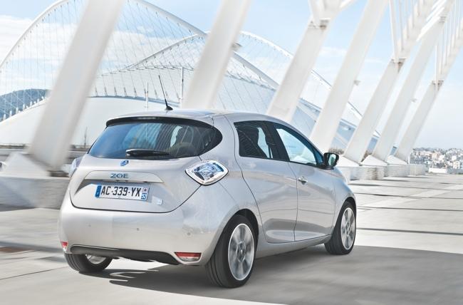 Renault ZOE gris exterior 32