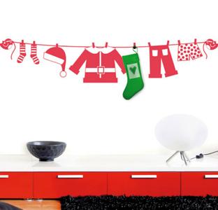 Vinilos decorativos para Navidad 2011