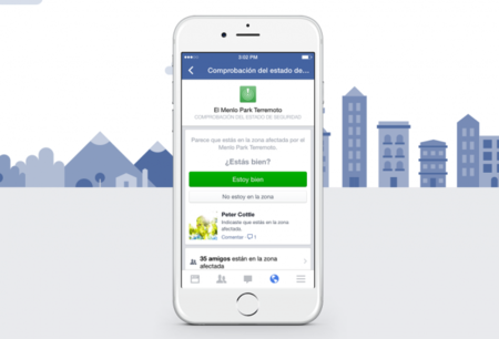 Así es cómo Facebook quiere que avises a familiares y amigos en caso de desastre natural