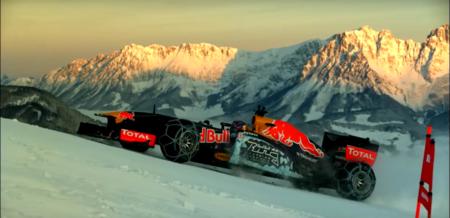 Video: Max Verstappen esquiando con Fórmula 1, y tu que creías haber visto todo