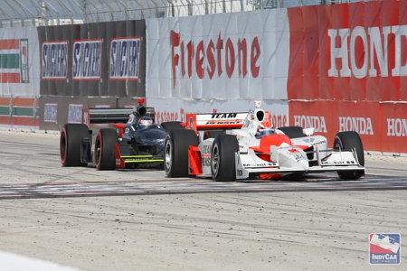 Ryan Briscoe empieza la IndyCar ganando