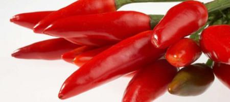 Ají picante chiles