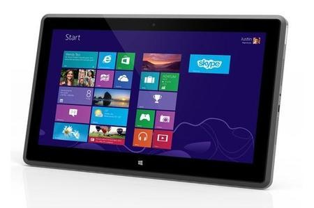 Vizio presenta una nueva tablet de 11.6 pulgadas con Windows 8