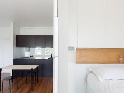 Optimización e ingenio para lograr vivir en 27 metros cuadrados
