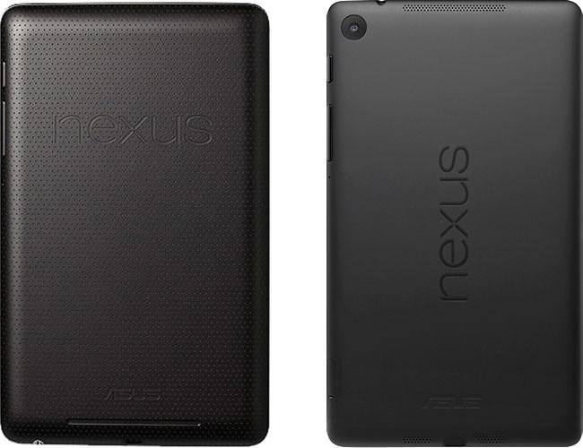 Nexus 7 vs nuevo Nexus 7