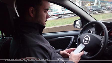 Enviar WhatsApps en el coche - it can wait