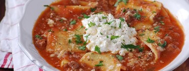 Así se hace la sopa de lasaña, la receta más buscada de Pinterest