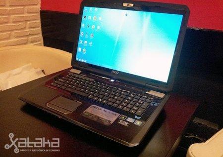 MSI GT780DXR, primeras impresiones de un portátil para jugar