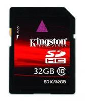 Kingston lanza su nueva SDHC clase 10 de hasta 32 GB