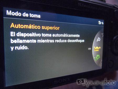Sony NEX-3N interfaz