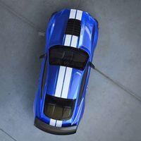 ¡Míralo desde arriba! Ford continúa desnudando al nuevo Mustang Shelby GT500